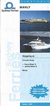 Manly Ferry and Jetcat 2003 Timetable